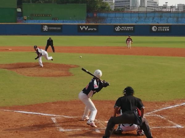 我校棒球队晋级第一届海峡两岸学生棒球联赛总决赛